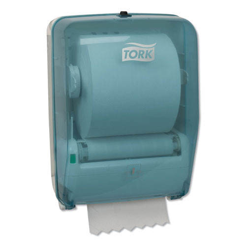 Tork Washstation Dispenser  12 56  x 18 09  x 10 57   Aqua White (TRK651220)