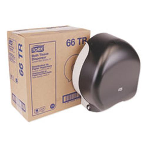 Tork Jumbo Bath Tissue Dispenser  10 63 x 5 75 x 12  Smoke (TRK66TR)