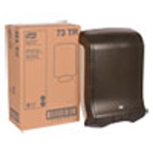 Tork Folded Towel Dispenser  11 3 4 x 6 1 4 x 18  Smoke (TRK73TR)