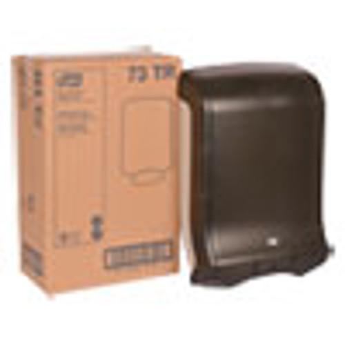 Tork Folded Towel Dispenser  11 3 4 x 6 1 4 x 18  Smoke (TRK73TR)