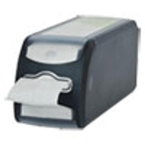 Tork Xpressnap FitA   Napkin Dispenser  Countertop  4 8 x 12 8 x 5 6  Black (TRK7432000)