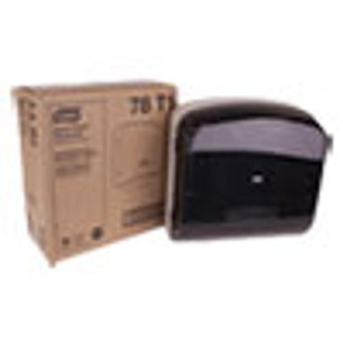 Tork Multifold Hand Towel Dispenser  Plastic  12 36  x 5 18  x 13   Smoke Gray (TRK78T1)