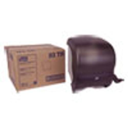 Tork Compact Hand Towel Roll Dispenser  12 49 x 8 6 x 12 82  Smoke (TRK83TR)