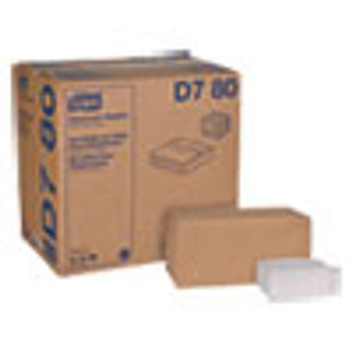 Tork Universal Masterfold Dispenser Napkins  1-Ply  13  x 12   White  6000 Carton (TRKD780)