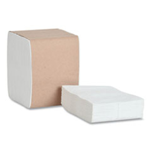 Tork Xpressnap Fit Interfold Dispenser Napkins  1-Ply  6 5 x 8 39  White  240 Pack  36 Packs Carton (TRKDX500)