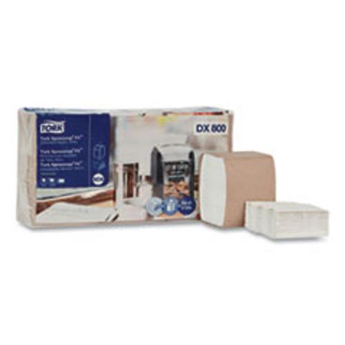 Tork Xpressnap Fit Interfold Dispenser Napkins  2-Ply  6 5 x 8 39  White  120 Pack  36 Packs Carton (TRKDX800)