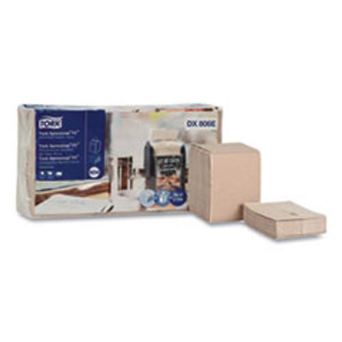 Tork Xpressnap Fit Interfold Dispenser Napkins  2-Ply  6 5 x 8 39  Natural  120 Pack  36 Packs Carton (TRKDX806E)