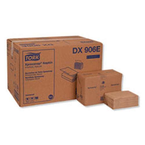 Tork Xpressnap Interfold Dispenser Napkins  2-Ply  Bag-Pack  13 x 8 5  Natural  500 Carton (TRKDX906E)