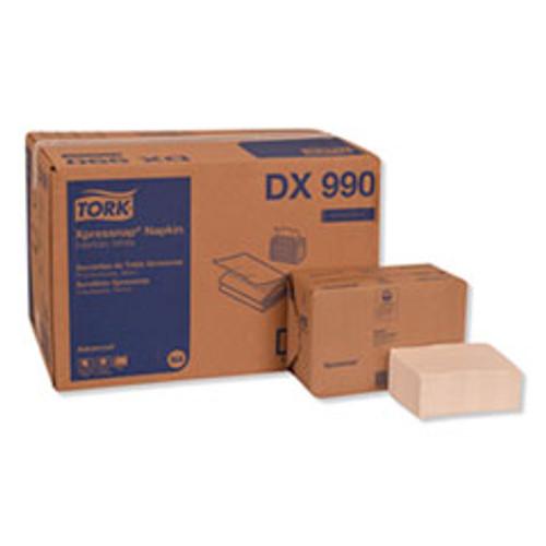 Tork Xpressnap Interfold Dispenser Napkins  2-Ply  6 5  x 8 5   White  6000 Carton (TRKDX990)