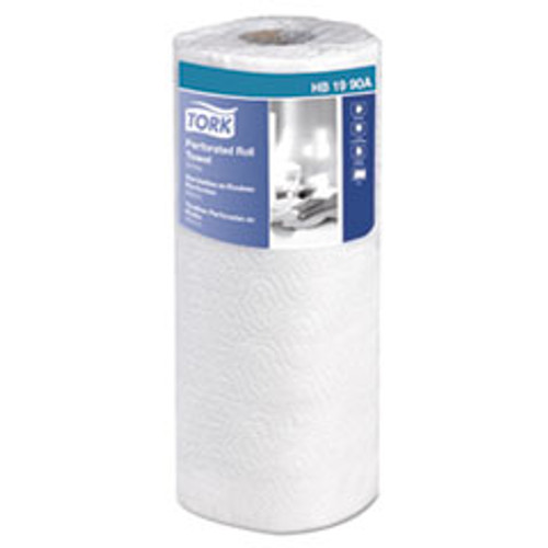 Tork Universal Perforated Towel Roll  2-Ply  11 x 9  White  84 Roll  30Rolls Carton (TRKHB1990A)