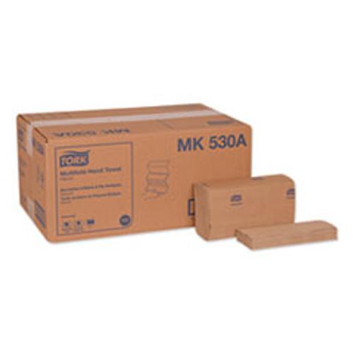 Tork Universal Multifold Hand Towel  9 13 x 9 5  Natural  250 Pack 16 Packs Carton (TRKMK530A)