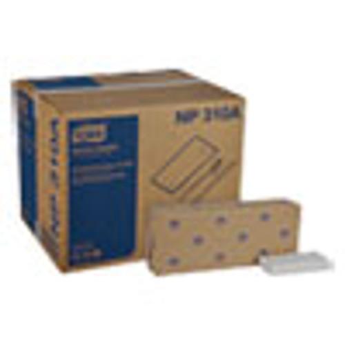 Tork Advanced Dinner Napkins  2 Ply  15  x 16 25   1 8 Fold  White  375 Packs  8 Packs Carton (TRKNP310A)