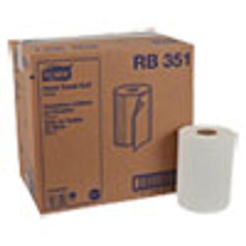 Tork Universal Hardwound Roll Towel  7 88  x 350 ft  White  12 Carton (TRKRB351)