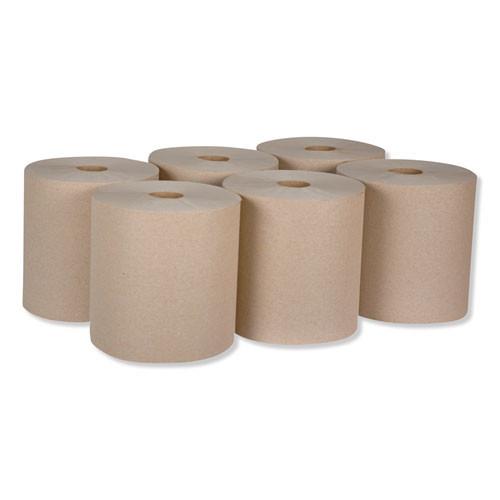 Tork Universal Hardwound Roll Towel  7 88  x 800 ft  Natural  6 Carton (TRKRK800E)