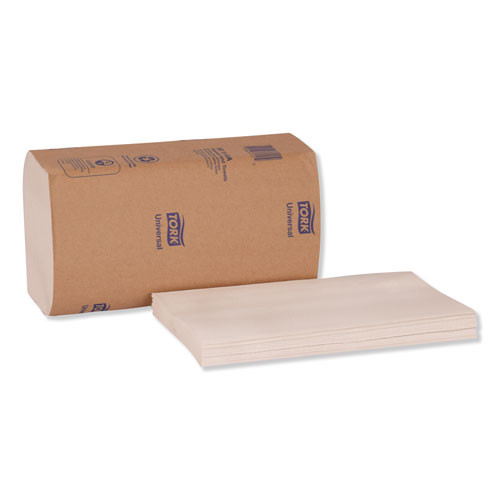 Tork Universal Singlefold Hand Towel  9 13 x 10 25  White  250 Pack 16 Packs Carton (TRKSB1840A)