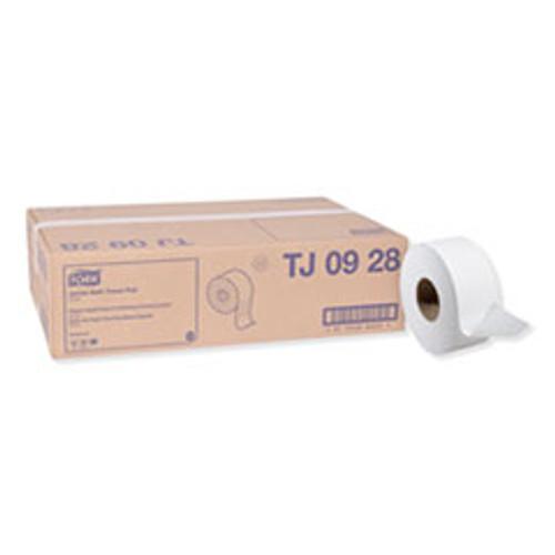 Tork Universal Jumbo Bath Tissue  Septic Safe  2-Ply  White  3 48  x 750 ft  12 Rolls Carton (TRKTJ0928)