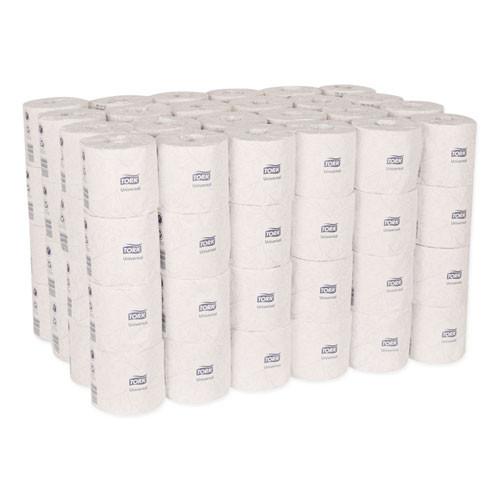 Tork Universal Bath Tissue  Septic Safe  2-Ply  White  500 Sheets Roll  96 Rolls Carton (TRKTM1616)