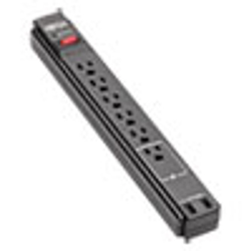 Tripp Lite Protect It  Surge Protector  6 Outlets  6 ft Cord  990 Joules  Black (TRPTLP606USBB)
