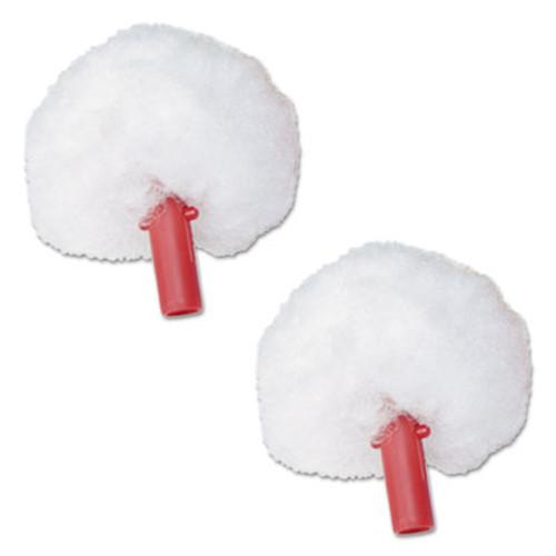 Unger ErgoToilet Bowl Brush Replacement Swab Head  White (UNGBSRHR)