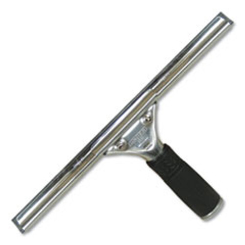 Unger Pro Stainless Steel Squeegee  10  Wide Blade  4  Handle (UNGPR25)