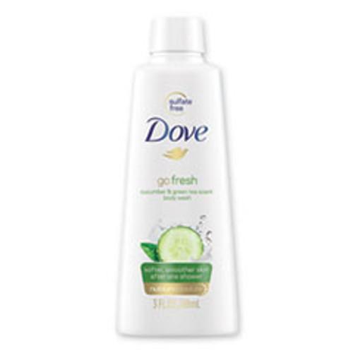 Dove Body Wash  Cucumber and Green Tea  3 oz (UNI17266EA)