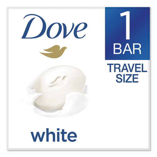 Dove White Beauty Bar  Light Scent  2 6 oz (UNI61073EA)