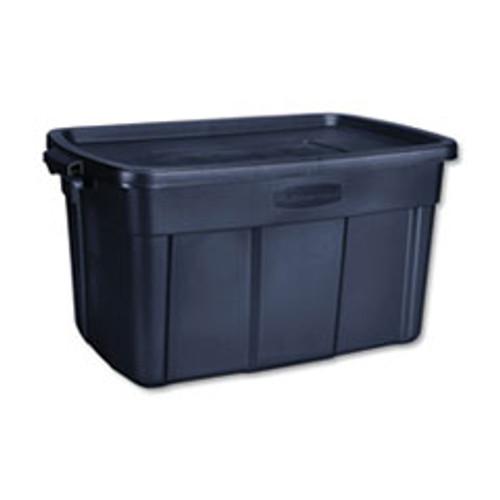 Rubbermaid Roughneck Storage Box  20 2 5w x 32 3 10d x 16 7 10h  Dark Indigo Metallic (UNXRMRT310000)