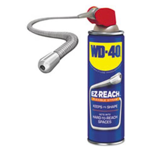 WD-40 Lubricant Spray  14 4 oz Aerosol Can w EZ Reach Straw  6 Carton (WDF490194)