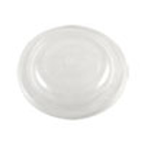 World Centric Fiber Bowl Lids  7 5 x 7 5 x 1  Clear  300 Carton (WORBOLCS24)
