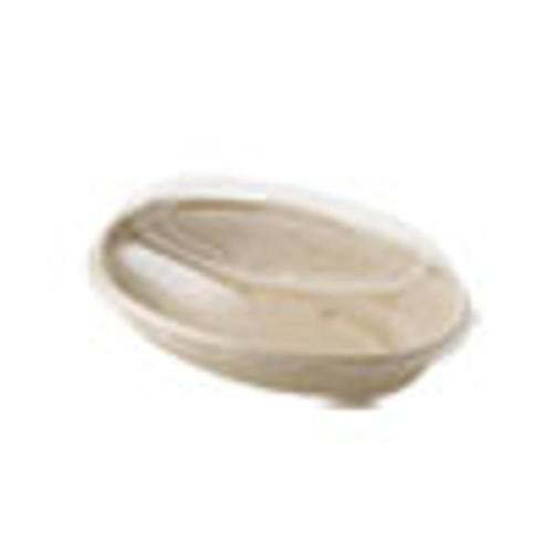 World Centric Fiber Burrito Bowl Lids  8  dia  Clear  400 Carton (WORBOLCSUBBS)