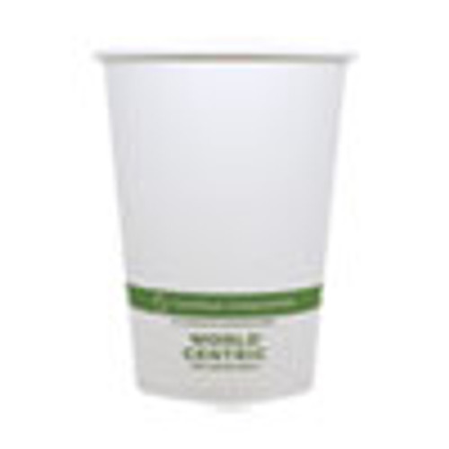 World Centric Paper Bowls  4 4  dia x 5 8   32 oz  White  500 Carton (WORBOPA32)