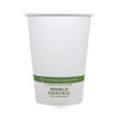 World Centric Paper Bowls  4 4  dia x 5 8   32 oz  White  500 Carton (WORBOPA32)