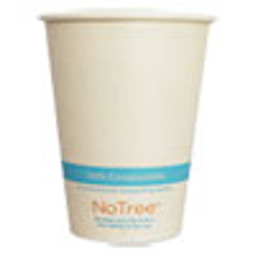 World Centric NoTree Paper Cold Cups  12 oz  Natural  1 000 Carton (WORCUSU12C)