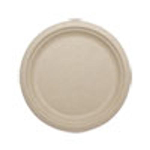 World Centric Fiber Plates  10   Natural  800 Carton (WORPLSCU10)