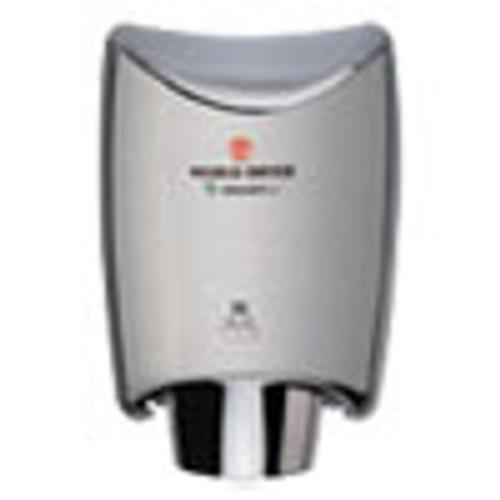 WORLD DRYER SMARTdri Hand Dryer  Stainless Steel  Brushed (WRLK973A2)
