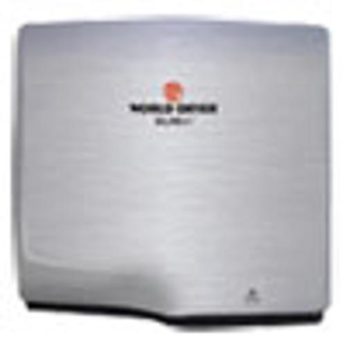 WORLD DRYER SLIMdri Hand Dryer  Stainless Steel  Brushed (WRLL973A)