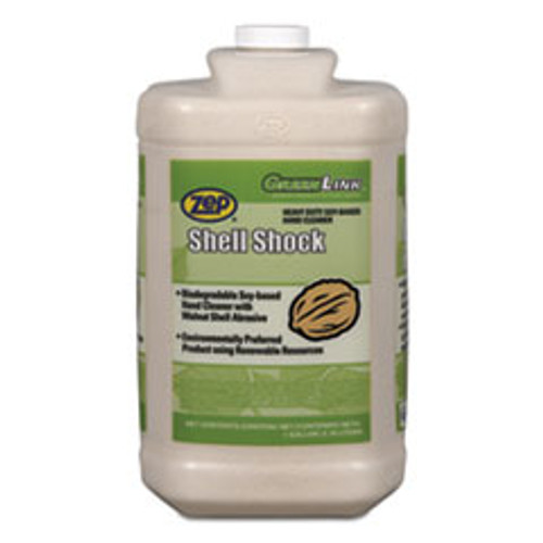 Zep Professional Shell Shock Heavy Duty Soy-Based Hand Cleaner  Vanilla  1 gal Bottle  4 CT (ZPE84923)