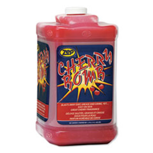 Zep Cherry Bomb Hand Cleaner  Cherry Scent  1 gal Bottle  4 Carton (ZPE95124)