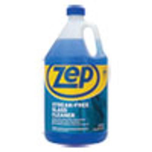Zep Commercial Streak-Free Glass Cleaner  Pleasant Scent  1 gal Bottle (ZPEZU1120128EA)