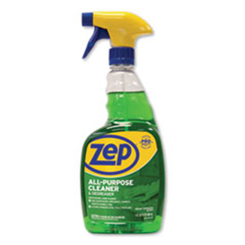 Zep Commercial All-Purpose Cleaner and Degreaser  Fresh Scent  32 oz Spray Bottle  12 Carton (ZPEZUALL32CT)
