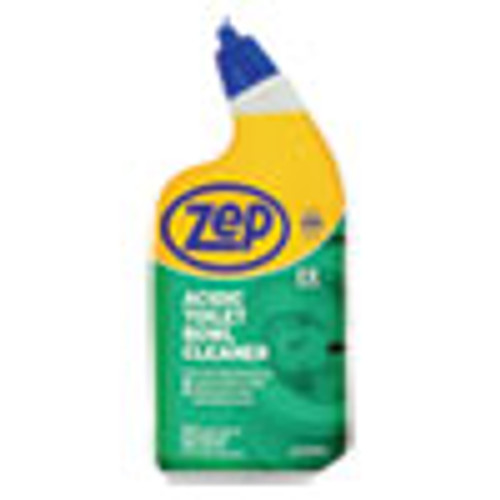 Zep Acidic Toilet Bowl Cleaner  Mint  32 oz Bottle  12 Carton (ZPEZUATBC32)