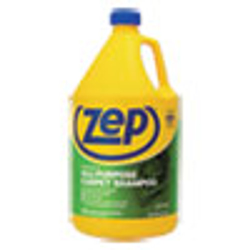 Zep Commercial Concentrated All-Purpose Carpet Shampoo  Unscented  1 gal  4 Carton (ZPEZUCEC128CT)
