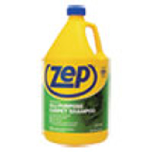 Zep Commercial Concentrated All-Purpose Carpet Shampoo  Unscented  1 gal Bottle (ZPEZUCEC128EA)