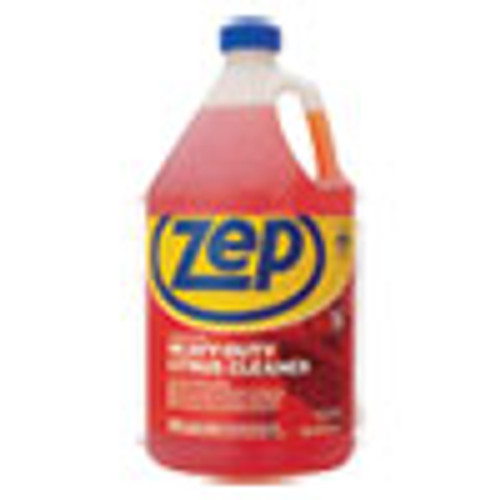 Zep Commercial Cleaner and Degreaser  Citrus Scent  1 gal Bottle (ZPEZUCIT128)