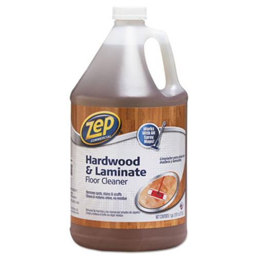 Zep Commercial Hardwood and Laminate Cleaner  1 gal Bottle (ZPEZUHLF128EA)