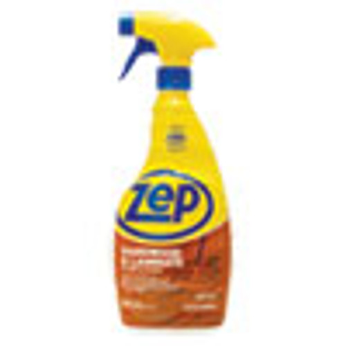 Zep Commercial Hardwood and Laminate Cleaner  32 oz Spray Bottle (ZPEZUHLF32EA)