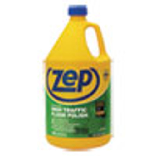 Zep Commercial High Traffic Floor Polish  1 gal Bottle (ZPEZUHTFF128EA)