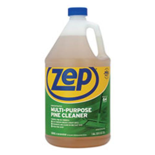Zep Commercial Pine Multi-Purpose Cleaner  Pine Scent  1 gal  4 Carton (ZPEZUMPP128CT)