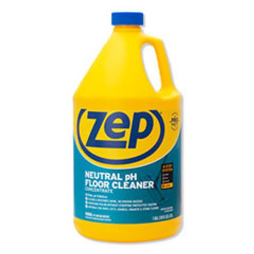 Zep Commercial Neutral Floor Cleaner  Fresh Scent  1 gal  4 Carton (ZPEZUNEUT128CT)