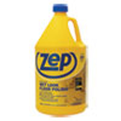 Zep Commercial Wet Look Floor Polish  1 gal Bottle (ZPEZUWLFF128EA)